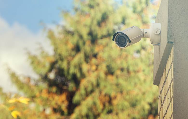 شروط تركيب كاميرات مراقبة